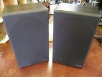 PAIR OF DENON SPEAKERS BY WHARFEDALE
