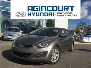 2015 Hyundai Elantra GL/HEATED SEATS/OFF LEASE/27536KMS