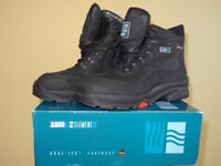 Mens Black Working Boots Size 8