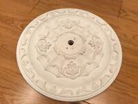 Ornate plaster ceiling rose