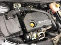 Vauxhall Astra H 2006 1.7 CDTI engine Z17DTL