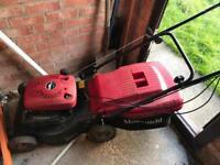 Non-running petrol mower for spares or repair