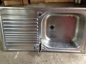 free stainless steel sink