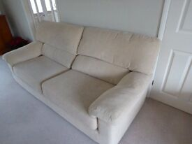 2 seater sofa, 3 seater sofa, chair & foot stool. Excellent condition.