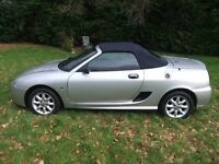 MG TF 2004 VERY NICE CAR LOW MILEAGE NEW MOT DRIVES SUPERB