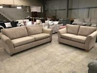 Brand new grey 3 + 2 sofa suite from M & S
