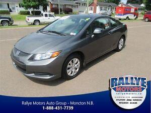2012 Honda Civic LX! Keyless! ONLY 42K! Save!