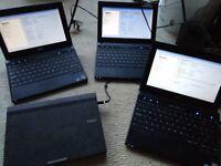 4x Dell Latitude 2110 netbook laptops - 1GB, 160GB, Intel Atom job lot for £60!!