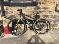 "Voodoo bizango 29"" wheels 18"" frame mountain bike"