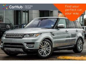 2017 Land Rover Range Rover Sport Td6 HSE AWD|Premium Pkg|Meridi