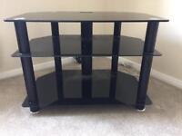 Glass Corner TV Unit / Stand