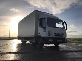 Iveco euro cargo box lorry 7.5 ton with tail lift ideal horse box conversion