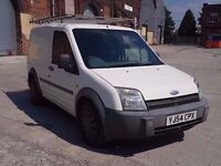 2004 (54) FORD TRANSIT CONNECT 1.8 TDCI T220 SWB L LOW ROOF, DIESEL VAN, DRIVES WELL, 12 MONTHS MOT