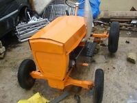 for sale garden tractor model horwool triplex 84 full recon ready to go