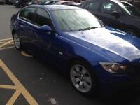 2007 56reg BMW 325d Blue SE Full Leather good condition Full Mot