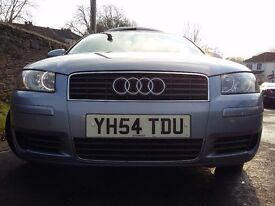Petrol 1.6 litre Audi A3. Three owners from new.
