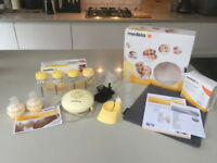 Medela Swing Breast Pump Set - includes teats and bottles