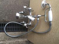 traditional bath mixer tap