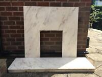 Marble Fire Surround & Hearth