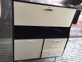 Retro kitchen cabinet/side table