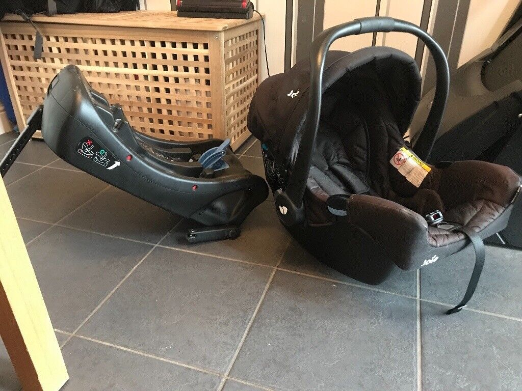 Joie Isofix and car seat