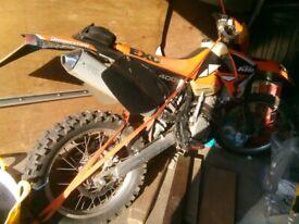 KTM, EXC, 2002, 400 (cc)