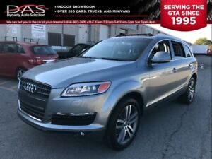 2009 Audi Q7 PREMIUM/LEATHER/PANORAMIC SUNROOF/ 7 PASS