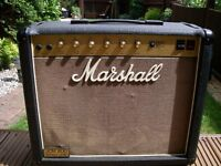 "Marshall Model 4010 JCM 800 all valve 1 x 12"" combo amplifier for electric guitar - '80s - England"