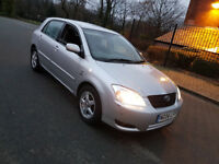 2004 TOYOTA COROLLA T3,2.0 D4D,115BHP,MANUAL,SERVICE HISTORY,VERY ECONOMICAL,HPI CLEAR,**CHEAP CAR**
