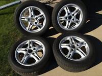"Porsche Boxster OEM 16"" Wheels & Tires"