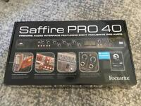 Focusrite Saffire Pro 40 Firewire Audio Interface