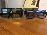 4 x pairs of 3D glasses