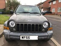 Jeep Cherokee Sport 2.4l 4x4. Low mileage for the year. New clutch with warranty and long MOT
