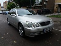 2002 Lexus GS 300 3.0 SE 4dr automatic full service history hpi clear 2 keys