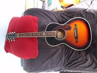 Fender Fred Emory Loyalty parlor guitar.