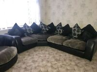 4 seat corner sofa with a rotating chair, it's in excellent condition. Collection only