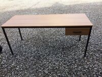 Desk with drawer immaculate condition £29 free local delivery