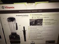 Vitiamix 500 brand new