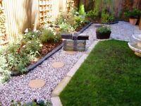 Garden Boarder Stomp Edge, Hard rubber,30 x 11.5 x 10 cm sections for garden shrubs, flowers,