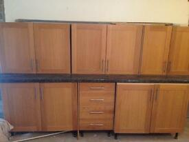 Kitchen cabinets