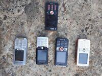 Ericcson mobile phones Various