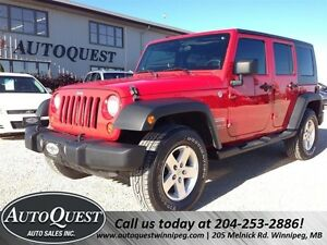 2010 Jeep Wrangler Unlimited Sport 4X4 - ACCIDENT FREE!!