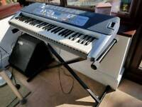 Casio LK110 Keyboard and stand