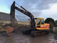 Digger Excavator Hymac 141C 13 ton machine