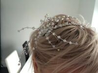 Swarovski wedding head band