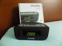 Pure Siesta Mi Series 2 Bedside DAB and FM digital clock radio