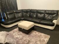 Leather couch for sale.