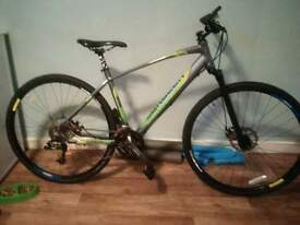 saracen clever mike sports hybrid 18 inch