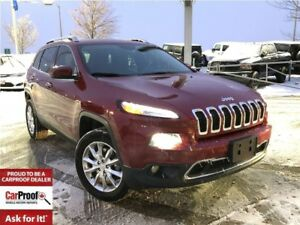 2015 Jeep Cherokee LIMITED**NAVIGATION**POWER LIFT- GATE**