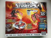 Battle Strikers Turbo Tops Metal XS Hyper-Strike Tournament Set